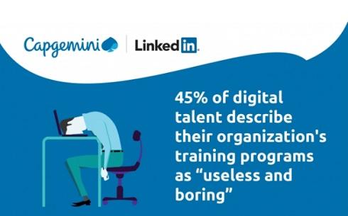 デジタル人材の需要ギャップに関するレポート発表―キャップジェミニ、LinkedIn
