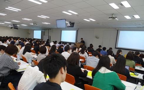 電通、博報堂、ADKがインターンシップの合同説明会を開催! 約250名の学生が全国から参加